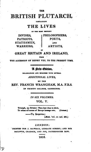 The British Plutarch by T. Mortimer.