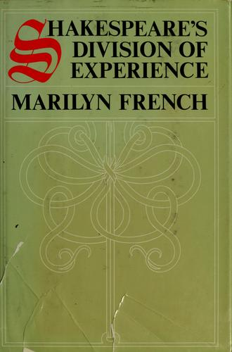 Download Shakespeare's division of experience