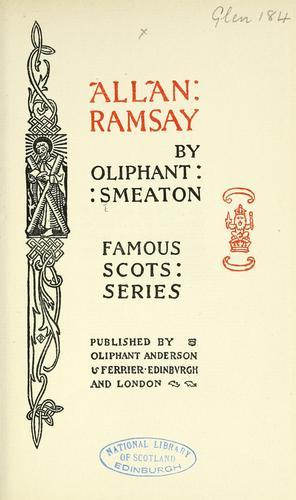 Allan Ramsay. A biography.