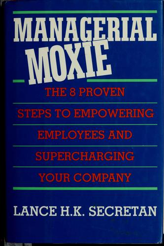 Download Managerial moxie