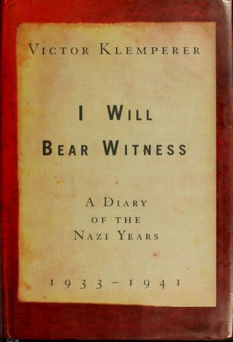 Download I will bear witness