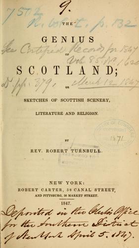 Download The genius of Scotland
