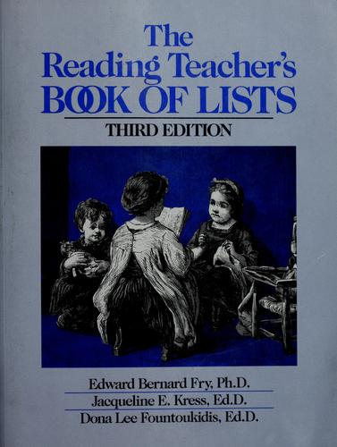Download The reading teacher's book of lists