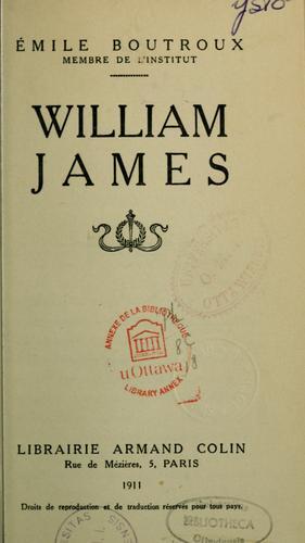 William James.