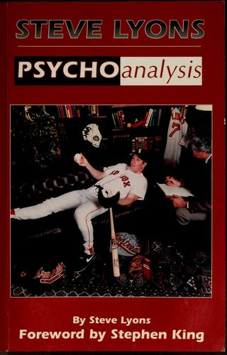 Image for Steve Lyons: Psychoanalysis