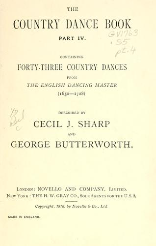 The country dance book …