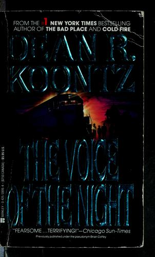 The Voice of the night by Dean R. Koontz