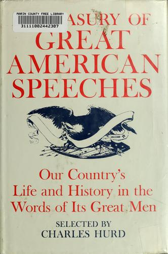 Download A treasury of great American speeches