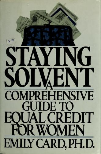 Download Staying solvent