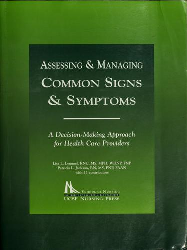 Assessing & managing common signs & symptoms