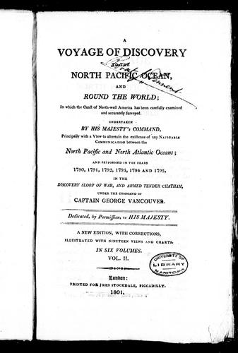 Download A voyage of discovery to the North Pacific Ocean, and round the world