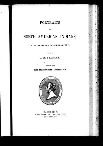 Download Portraits of North American Indians