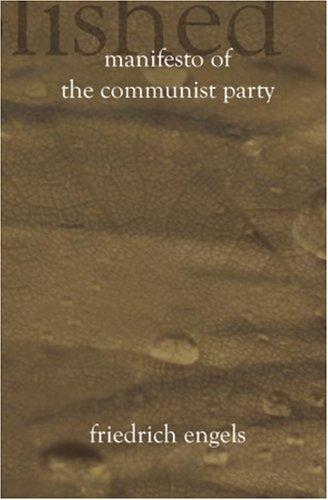 Download Manifesto of the Communist Party