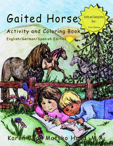 Download Gaited Horse Activity And Coloring Book