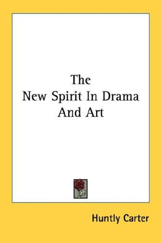 Download The New Spirit In Drama And Art