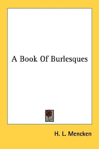 Download A Book Of Burlesques