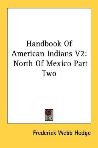 Handbook Of American Indians V2
