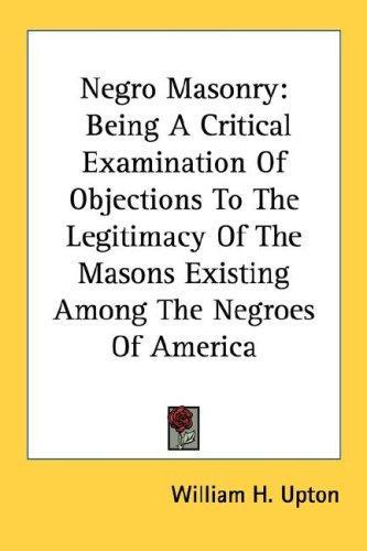Negro Masonry