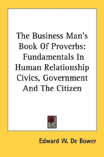 Download The Business Man's Book Of Proverbs