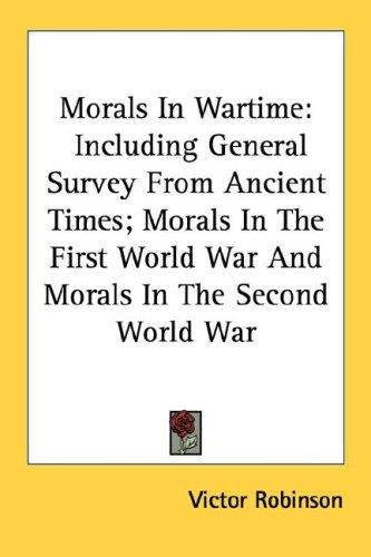 Download Morals In Wartime