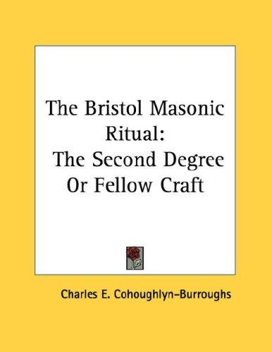 Download The Bristol Masonic Ritual