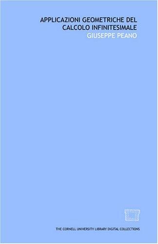 Download Applicazioni geometriche del calcolo infinitesimale