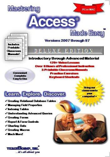 Mastering Access Made Easy v. 2007 through 97
