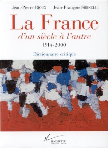 Download La France d'un siècle à l'autre