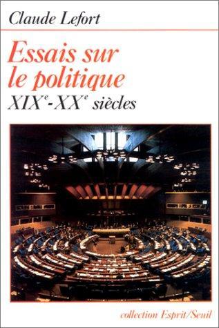Download Essais sur le politique