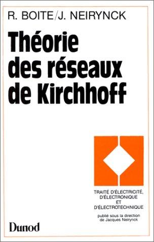 Théorie des réseaux de Kirchhoff