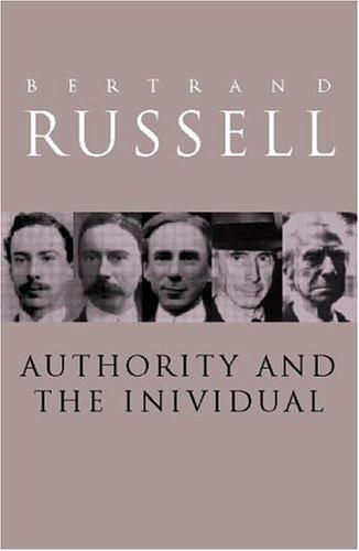 Download Authority and the individual