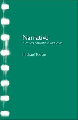 Narrative by Michael J. Toolan