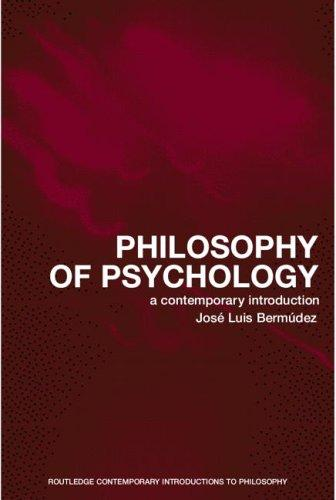 Image for Philosophy of Psychology: A Contemporary Introduction (Routledge Contemporary Introductions to Philosophy)