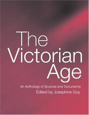 Thumbnail of The Victorian Age: An Anthology of Sources and Documents