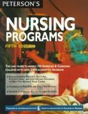 Peterson's Guide to Nursing Programs by Peterson's