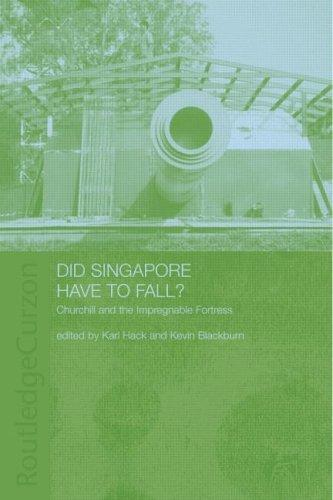 Download Did Singapore have to fall?