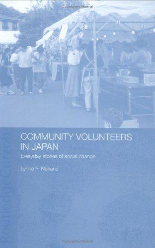 Community volunteers in Japan by Lynne Y. Nakano