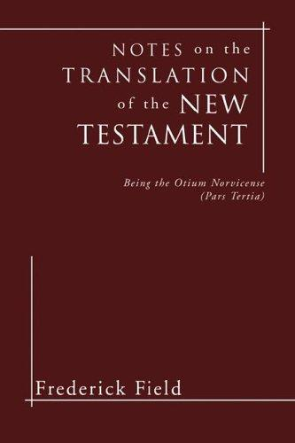 Download Notes on the Translation of the New Testament
