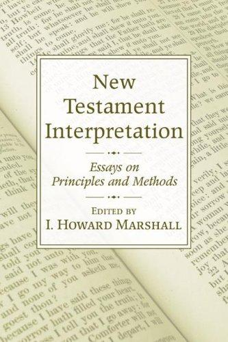 Download New Testament Interpretation
