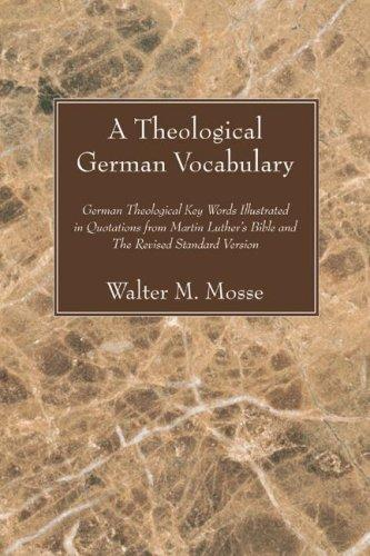 Download A Theological German Vocabulary