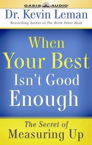 Download When Your Best Isn't Good Enough