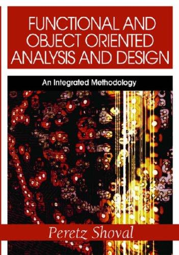 Download Functional and Object Oriented Analysis and Design