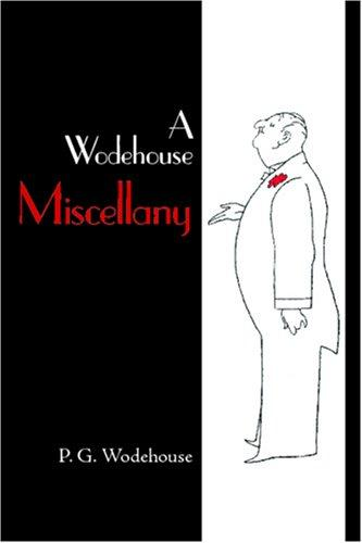 Download A Wodehouse Miscellany