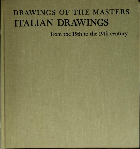 Italian drawings from the 15th to the 19th century.