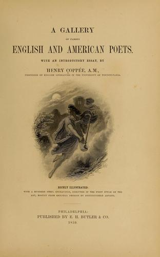 A gallery of famous English and American poets.