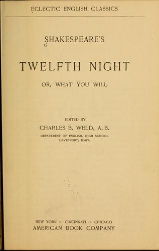 Download Shakespeare's Twelfth night