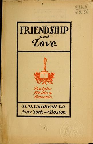 Download Friendship and Love.