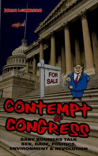 Download Contempt of Congress
