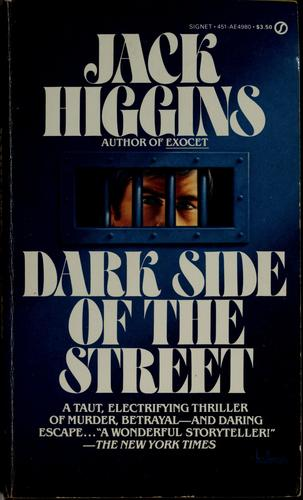 Dark side of the street by Jack Higgins