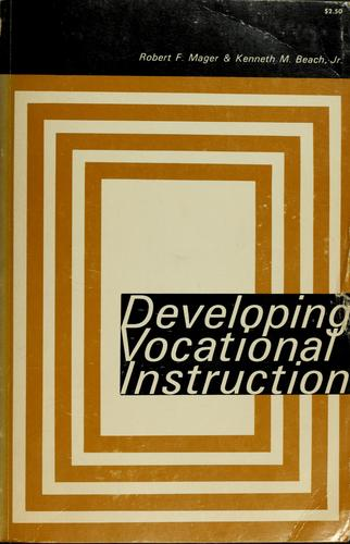 Download Developing vocational instruction